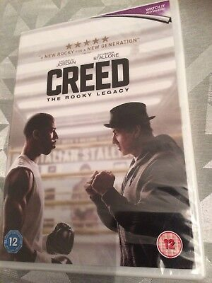 Creed [2016] (DVD) Sylvester Stallone Is Rocky Balboa / New & Sealed !!!