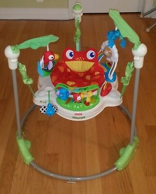 Fisher Price Rainforest Jumperoo used condition