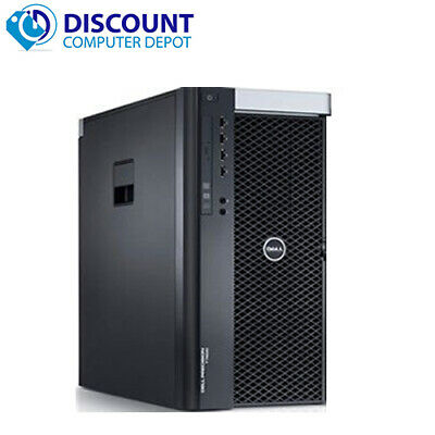 Dell T3600 Workstation Computer Tower PC Xeon 3.2GHz 16GB 1TB Windows 10 Pro