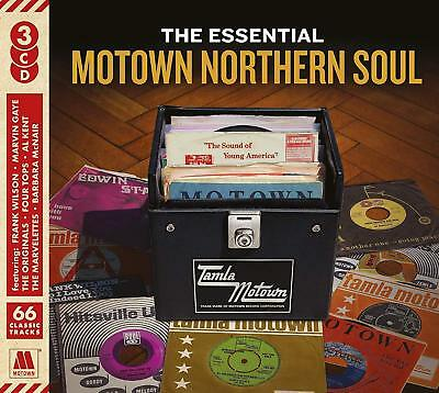 The Essential Motown Northern Soul (3 Disc Cd Set 2018) New/sealed