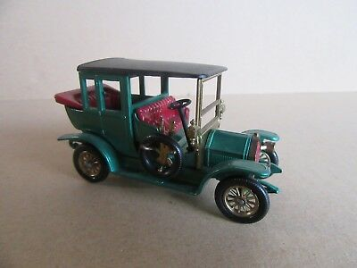 Voiture MINIATURE-MATCHBOX-models of yesteryear y-3-1910 BENZ LIMOUSINE-OVP