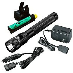 Stinger DS LED Rechargeable Flashlight with PiggyBack Charger and AC/DC Charge C