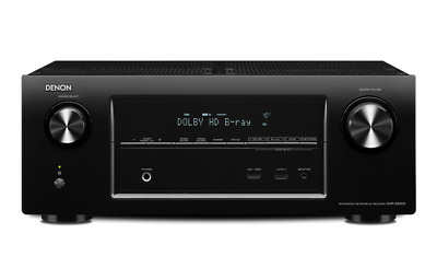 Denon AV Receiver AVR-X3000 7.1 Home Cinema Separates 180W per channel