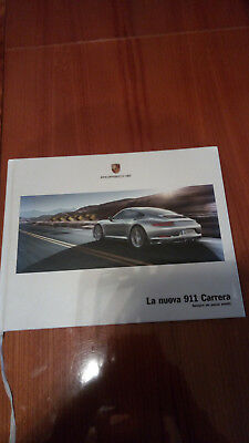 depliant porsche 911 carrera 2015 - in italiano -