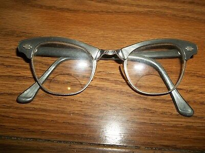 Vintage Art Craft Cat Eye, Horn Rim Ladies Eyeglasses