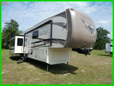 2016 Forest River Cedar Creek Hathaway Edition 38FB2 Used Towable Fifth Wheel