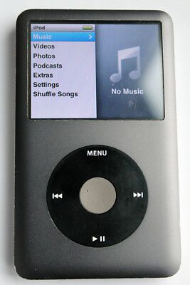 Apple iPod Classic 7th Generation Black (160GB) - Working