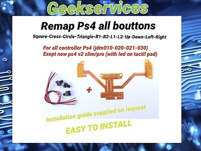 """""""Remap board Ps4"""" Create Your Own Compétition Controller! Easy remapper Ps4"""