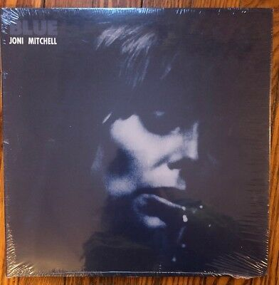 Joni Mitchell Blue Vinyl LP Sealed New Reprise 74842