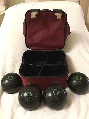 Greenmaster Lawn Bowls - Size 0 - Includes Bag!