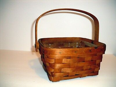 Longaberger 1993 Medium Berry Basket & Protector