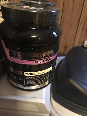 Beachbody Performance Recharge Vanilla NEW SEALED