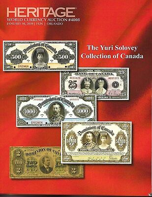 The Yuri Solovey Catalog of Canada