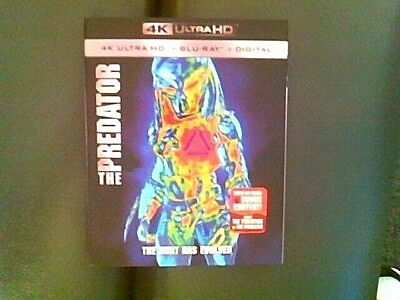 The Predator (Blu-ray/DVD, 2018, Includes Digital Copy) 4K Ultra HD, SEALED !