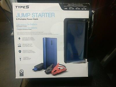 TYPE SWinplus 10,000mAh Lithium-Ion Car Jump Starter and Power Bank