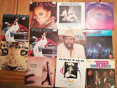 Job lot of 10 Picture Sleeves and Vinyl, Northern Soul Four Tops, Stevie Wonder