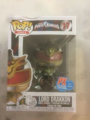 Funko Pop Power Rangers: Lord Drakkon PX Previews Exclusive
