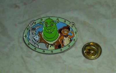 SHREK pin Donkey Puss in Boots movie animation FREE SHIPPING