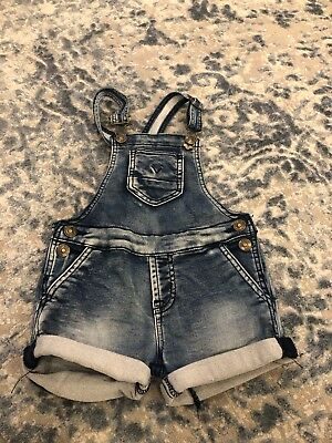 Hudson jeans Baby Girl Overalls Shorts 24Mnts