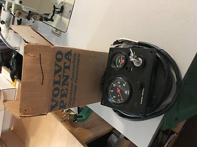 VOLVO PENTA engine control panel with wiring harness, from MD17c engine