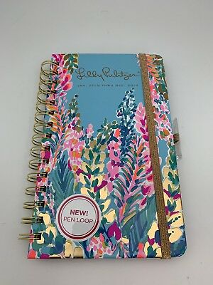 Lilly Pulitzer 12 Month Medium Agenda, Planner in Catch The Wave 2019, New