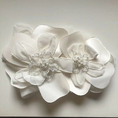 Bridal Floral Headpiece Brooch