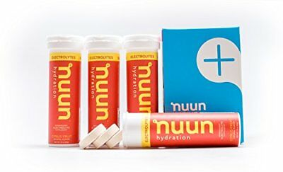 Nuun Hydration: Electrolyte Drink Tablets, Citrus Fruit, Box of 4 Tubes (40 serv