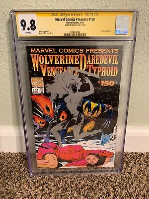 Marvel Comics Presents #150 Wolverine & Daredevil Vengeance CGC SS 9.8 Stan Lee