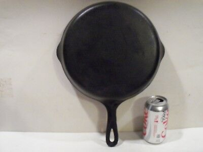 Nice Vintage Antique Cast Iron Griswold Skillet Double Spouts, #8 704 G,camping
