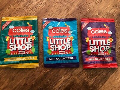 Coles Minis Rare Unopened Mint Condition Packet