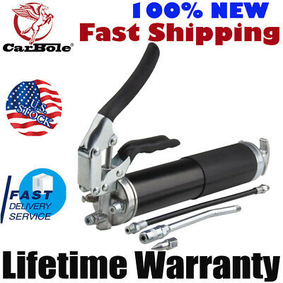 TOP 4,500 PSI Cordless Air Grease Gun Anodized Pistol Grip Heavy Duty Powerful