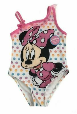 a3849e6b21821 Minnie Mouse One Piece Swimsuit Girls Size 3T Polka Dot UPF 50+ Disney NEW