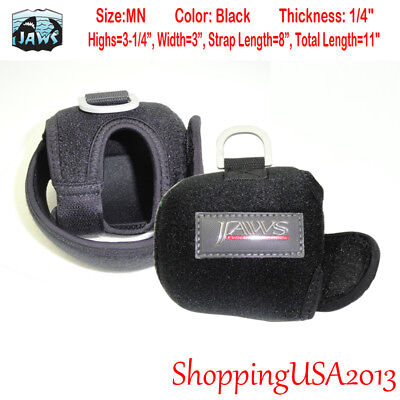 JAWS size MN COVER FOR Accurate BX 400 AVET MXJ Daiwa 20 Shimano TN12A reel BLK