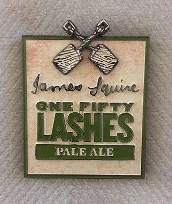 James Squire 150 Lashes Metal Tap Beer Badges Top New FREE POSTAGE!