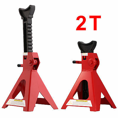 Heavy Duty Axle Stands 2 Tonne Lifting Capacity Per Stand 4 Ton Per Pair UK.