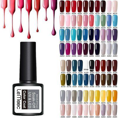 8ml LEMOOC Nagel Gellack Gel UV Nagellack Soak off Nail UV Gel Polish Magnetisch