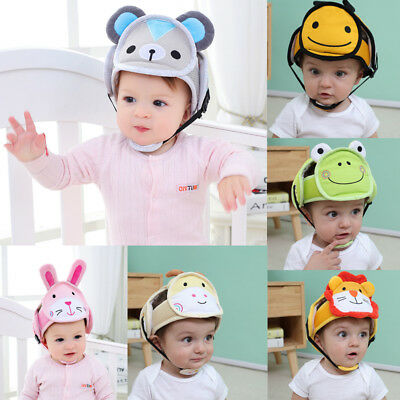 Infant Toddler Safety Helmet Baby Kid Head Protect Hat For Walking Crawl E Styl