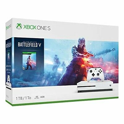 Xbox One Gaming Bundle S 1TB Console - Battlefield V Ultimate Gaming Bundle