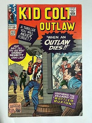 1965 Marvel KID COLT OUTLAW #122 * Jack Kirby Cover!
