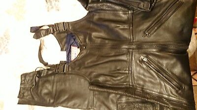 Scott leather trousers
