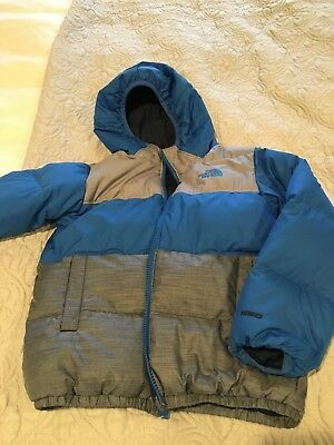 The North Face Moondoggy Kid Reversible Down Jacket Size 6