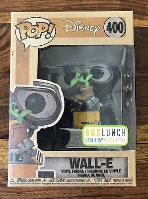 FUNKO POP #400 Wall-E BoxLunch Earth Day Exclusive Disney Vinyl