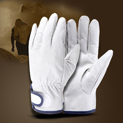 Welding Gloves Labor Two-layer Cowhide Leather Welder Glove Thick Wear-resistant