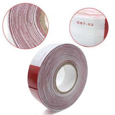 """DOT-C2 Reflective Conspicuity Tapes Safety FOOT ROLL 2""""x150ft Feet Weatherproof"""