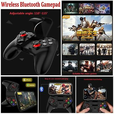 Wireless Bluetooth Gamepad Joypad Mobile Game Controller For iPhone Android PUBG