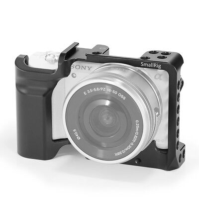 SMALLRIG A5000/A5100 Cage for SONY A5000/A5100 with Anti-Twist Design, Cold Shoe