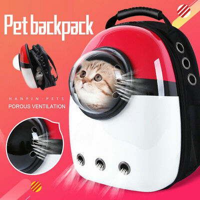 Portable Pet Carrier Space Capsule Backpack Dog&Cat Bubble Carriers Traveler Bag