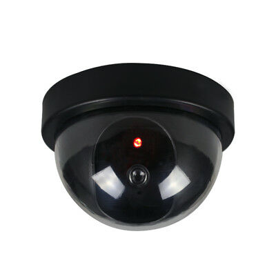 1 Pc/4 Pcs RED LED Lights Flashing Fake Dummy Dome Security Camera