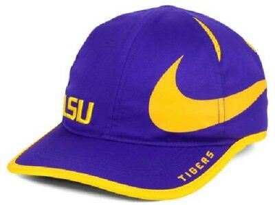 brand new 66d62 21a6e LSU Tigers NCAA Nike Big Swoosh Aerobill Adjustable Hat