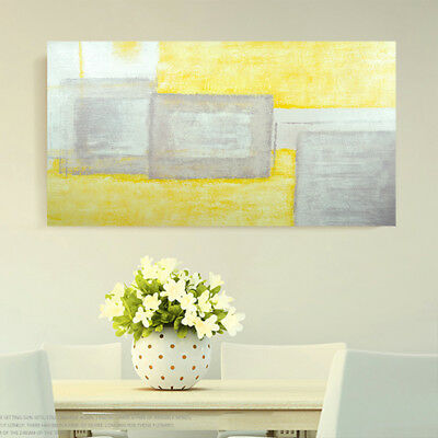 Abstract Pure Hand Painted Art Canvas Oil Painting Modern Home Decor Framed